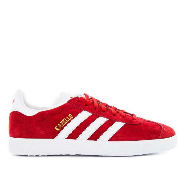 Adidas U Gazelle Red White Gold