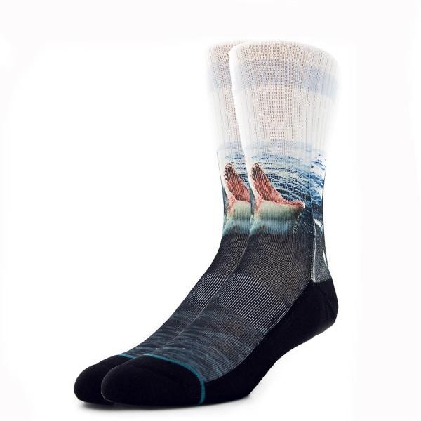 Stance Socks Landlord Shark Black Multi