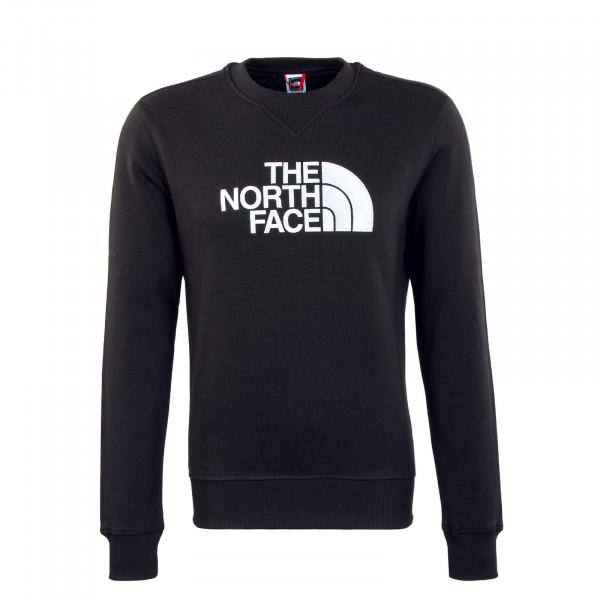 Herren Sweatshirt - Drew Peak Crew - Black / White