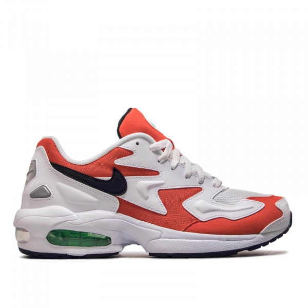 Herren Sneaker Air Max 2 Light White Red Black