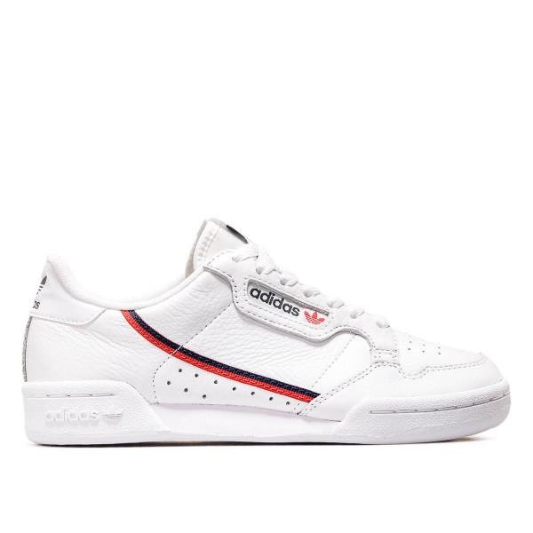 Adidas U Continental 80 White Red Navy