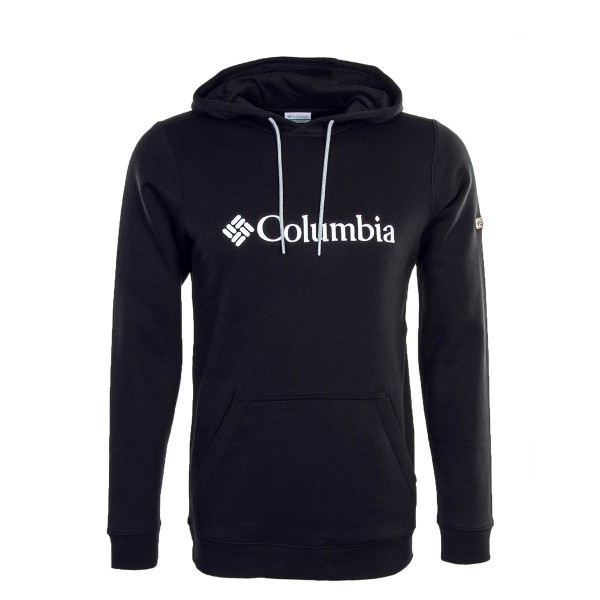 Columbia Hoody Basic Logo Black White