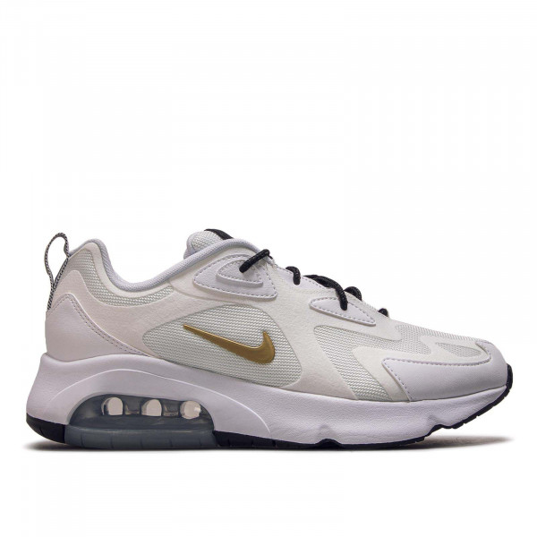 Damen Sneaker Air Max 200 White Gold Black