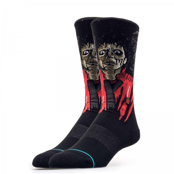 Stance Socks Anthem Thriller Black Red