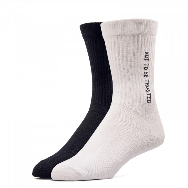 Wood Wood Socks 2 Pk Gail  White Black