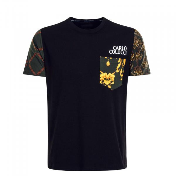 Herren T-Shirt - C3032 - Black
