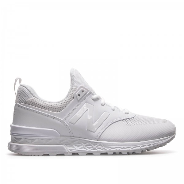 New Balance MS 574 SWT White