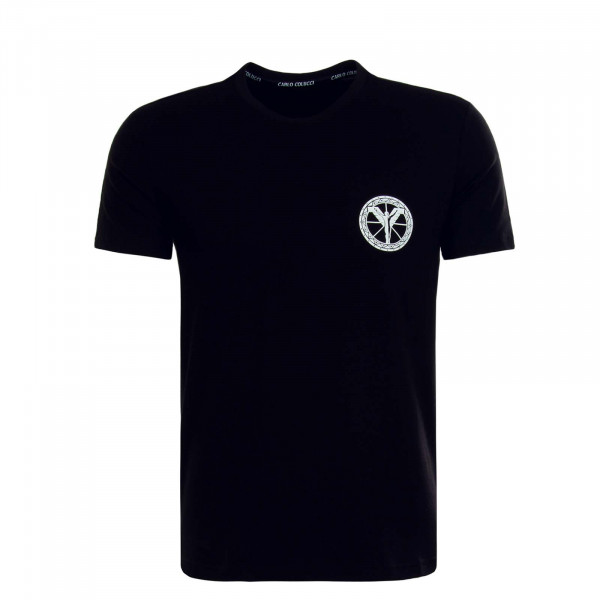 Herren T-Shirt C2416 Black White