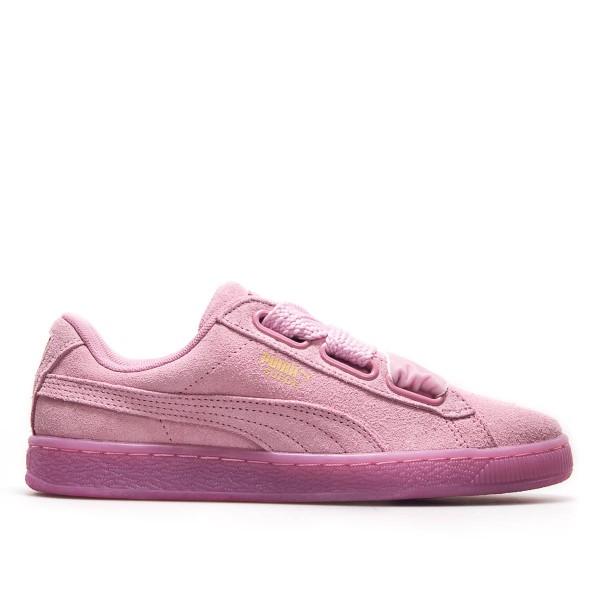 Puma Wmn Suede Heart Resert Prism Pink