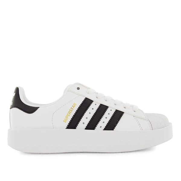 Adidas Wmn Superstar Bold White Black