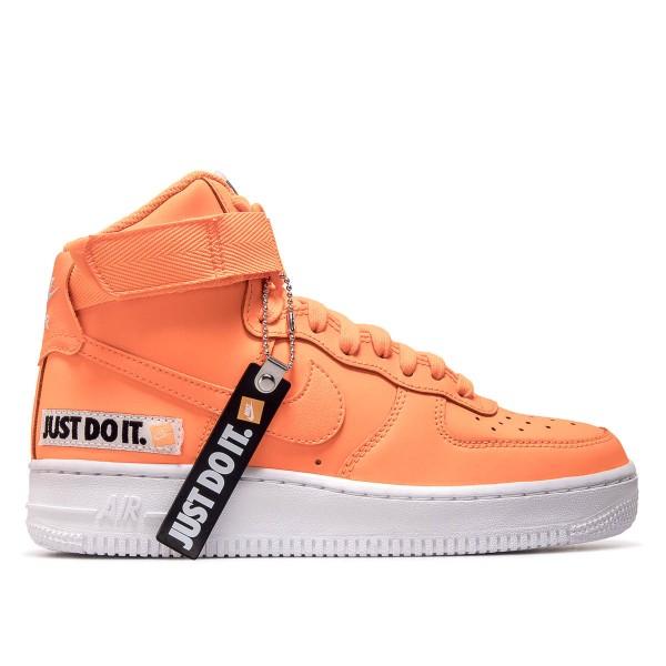 Nike Wmn Air Force 1 HI LX LTHR Orange