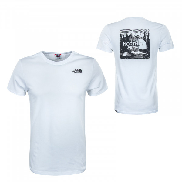 Herren T-Shirt - Redbox Celebration - White Black
