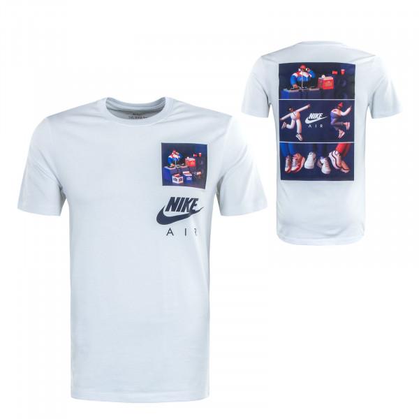 Herren T-Shirt Airman DJ CW0413 White