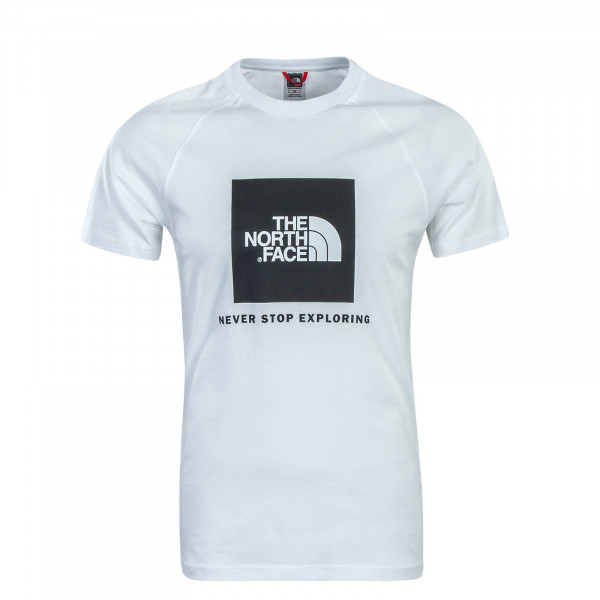 T-Shirt Rag Red Box White