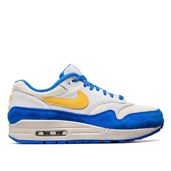 Nike Air Max 1 White Blue  Grey Yellow