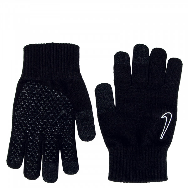 Handschuhe Knitted Tech and Grip Black Black White