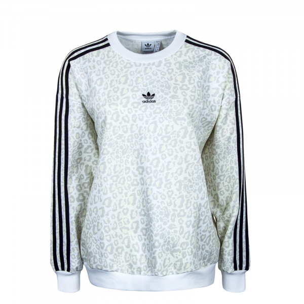 Damen Sweatshirt - Crewneck -  Multicolor / White / Talc