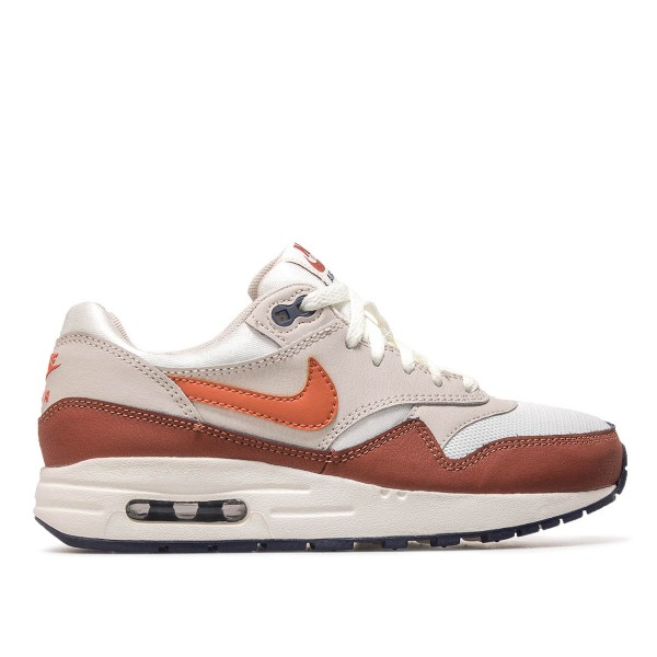 Nike Wmn Air Max 1 GS White Grey Brown
