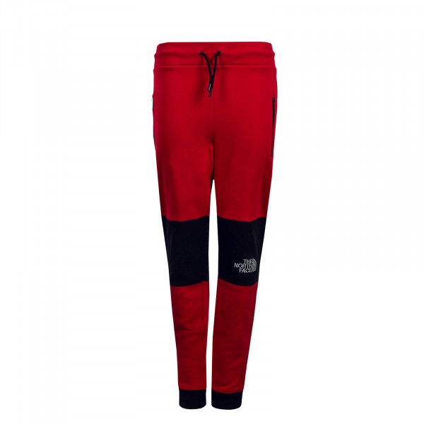 Northface Jogging Pant Himalayan Red Black