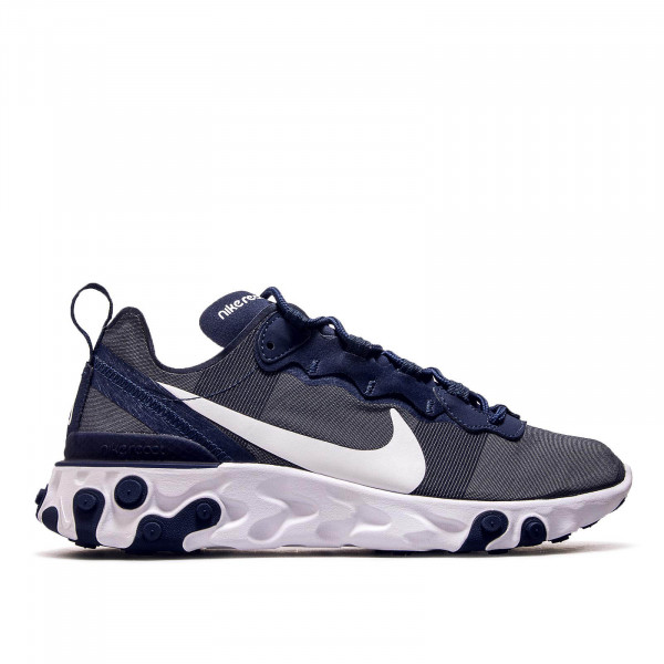 Nike React Element 55 Navy White
