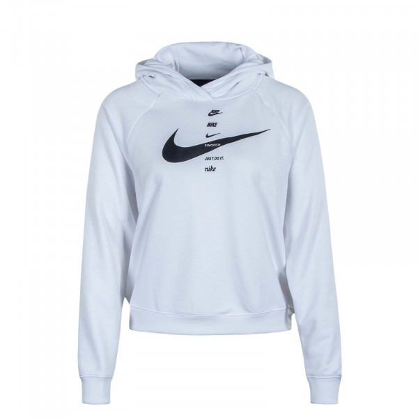 Damen Hoody NSW Swoosh FLC BB White Black