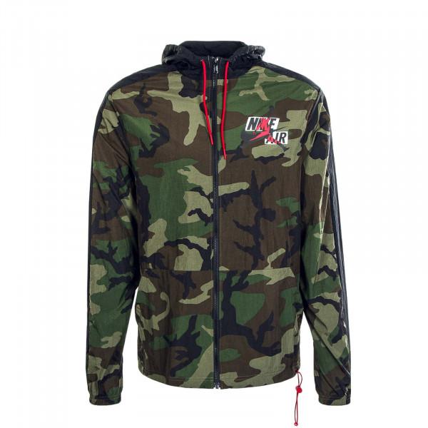 Herren Jacke JMC CU2030 Camouflage Windbreaker Olive Red