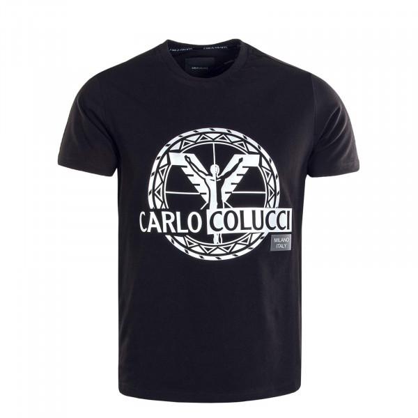 Herren T-Shirt - C3033 - Black Silver