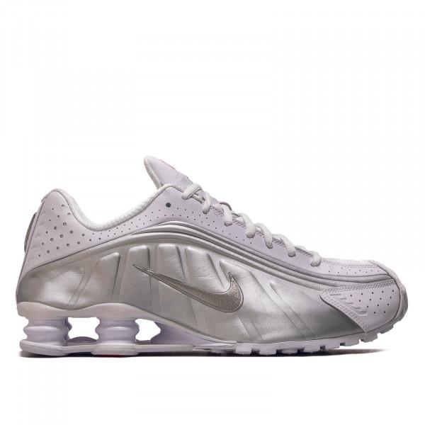 Herren Sneaker Shox R4 White Silver