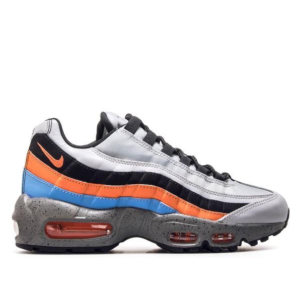 Nike U Air Max 95 PRM Grey Orange Black