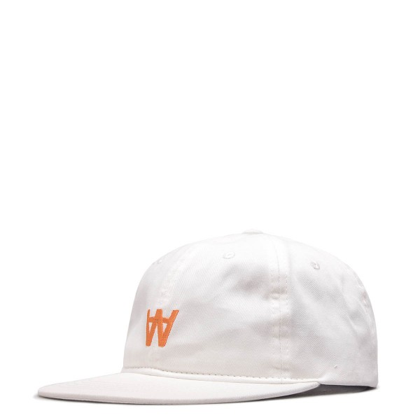 WoodWood Cap Baseball Off White