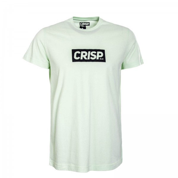 Crisp TS Big Print Mint Black