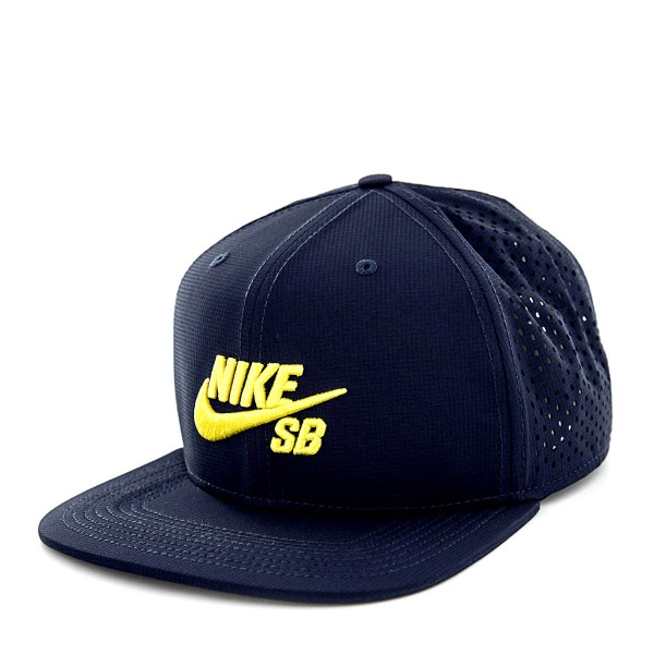 Nike SB Cap Trucker Navy Yellow