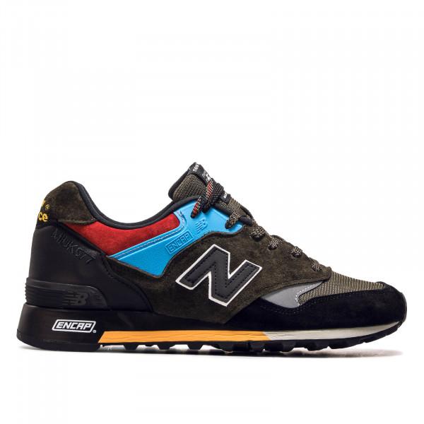 Herren Sneaker M 577 UCT Olive Black Blue Red