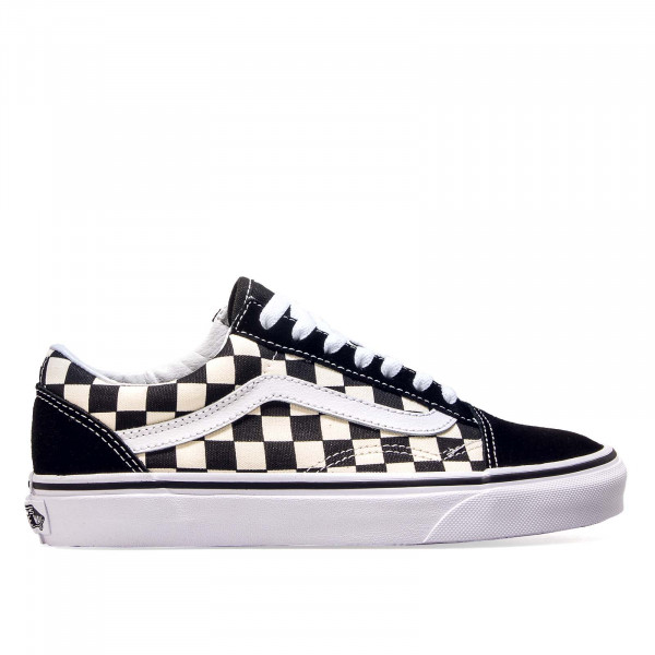 Vans Old Skool Primary Check Black White