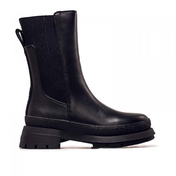 Damen Stiefel - Shari Boot Flat Imi Nappa - Black