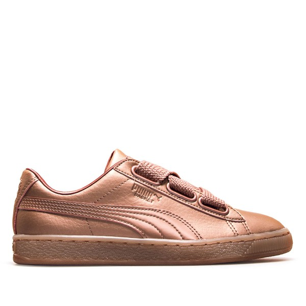 Puma Wmn Basket Heart Copper Rose