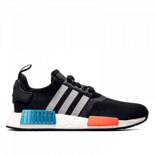 Unisex Sneaker NMD R1 Black Silver Red