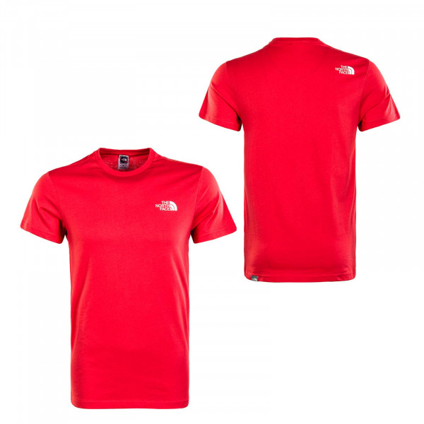 Herren T-Shirt - S/S Simple Dome Rococco - Red