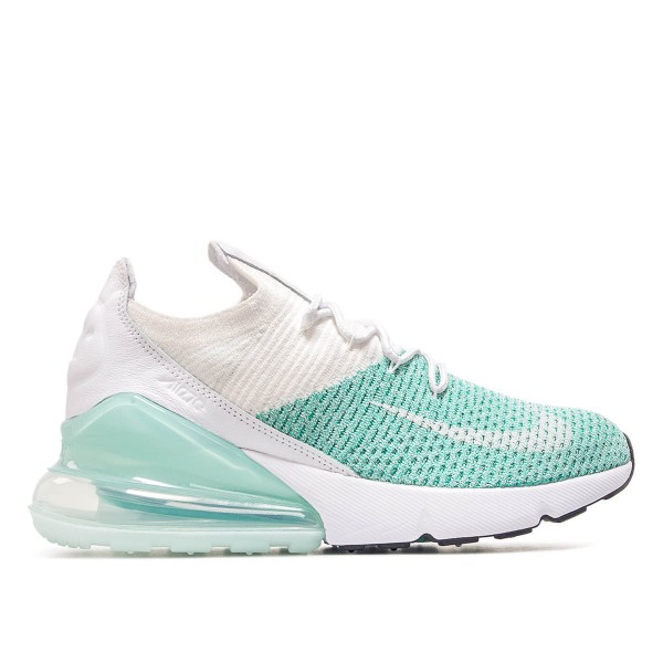Nike Wmn Air Max 270 Flyknit Mint White
