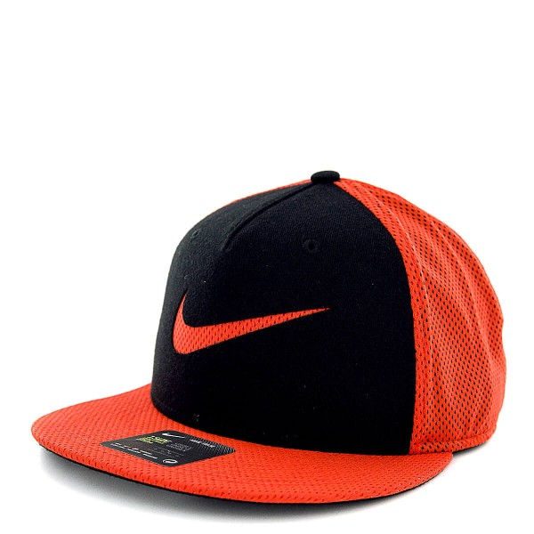 Nike Cap True LBL Mesh Black Orange