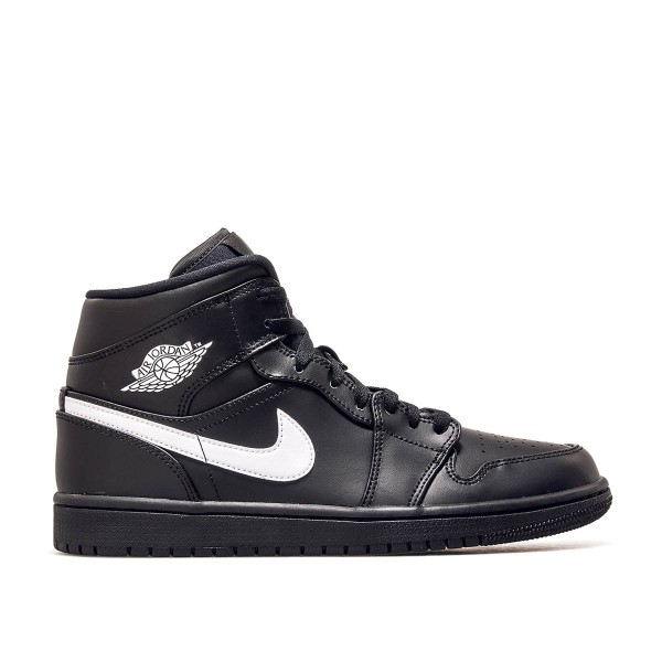 Nike Air Jordan 1 Mid Black White