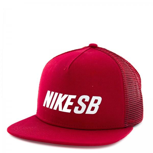Nike SB Cap Reflect Trucker Red Silver