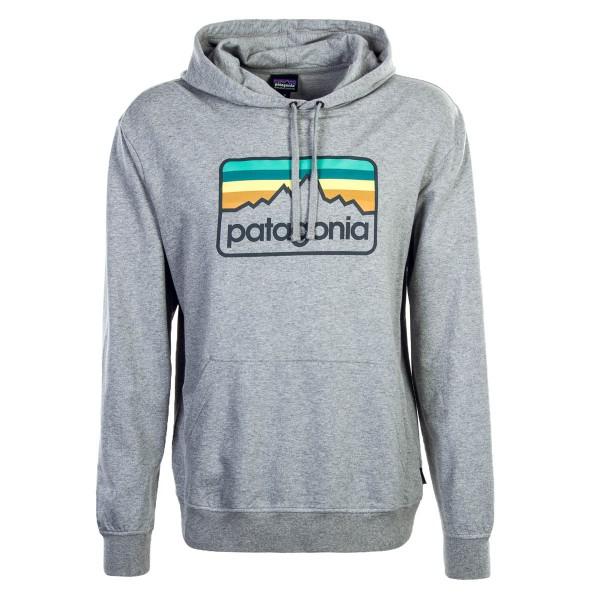 Patagonia Hoody Line Logo Grey