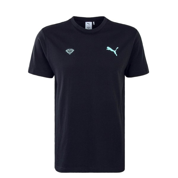 Puma TS X Diamond Logo Black Blue