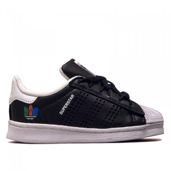 Kids Sneaker Superstar I Black Green White