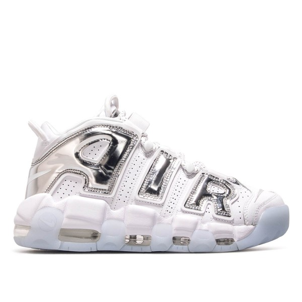 Nike Wmn Air More Uptempo White Silver