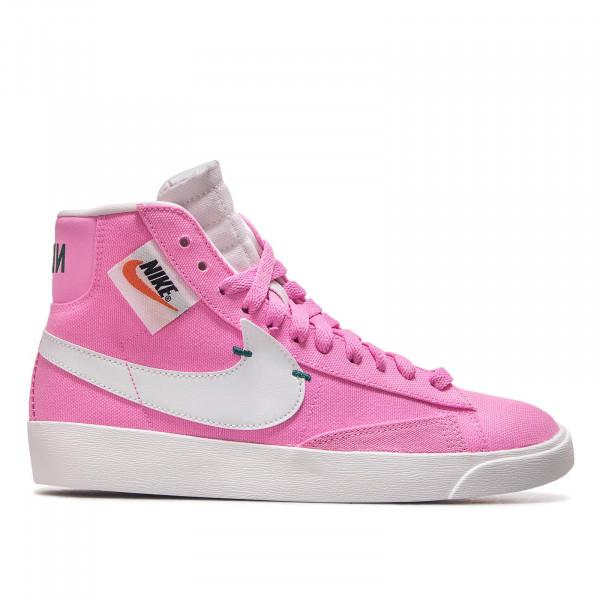 Damen Sneaker Blazer Mid Rebel Pink White