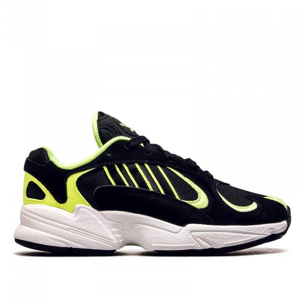 Unisex Sneaker Yung 1 Black Neon Yellow