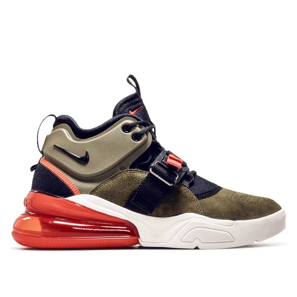 Nike Air Force 270 Medium Olive Black