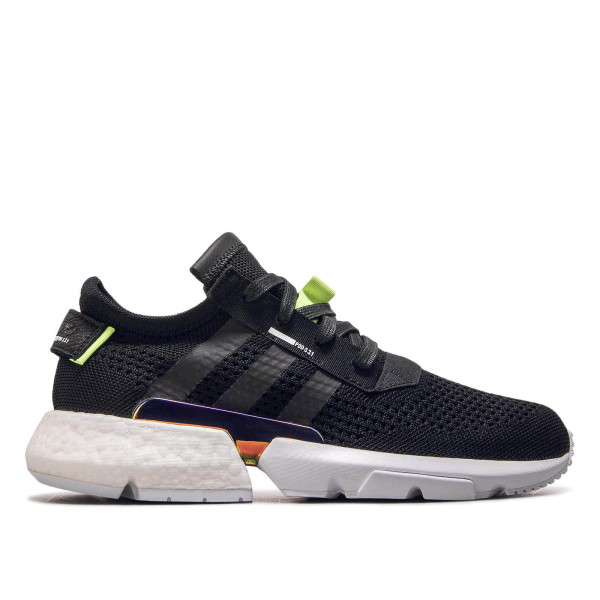 Adidas P.O.D S3.1 Black Neon Yellow Gold